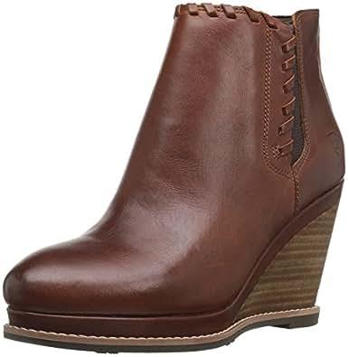 Ariat Women's Belle Western Fashion Boot, Cedar, 5.5 B US