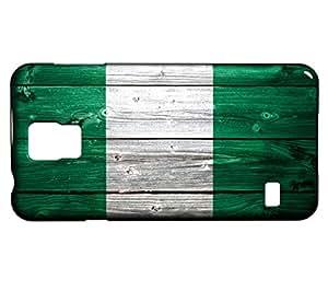Funda Carcasa para Galaxy S5 Mini Bandera NIGERIA 02