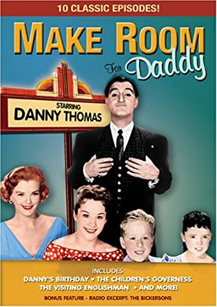 Amazon.com: Make Room for Daddy (B&W): Danny Thomas, various: Movies ...