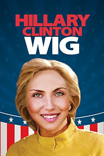Hilary Clinton Wig Costume Accessory
