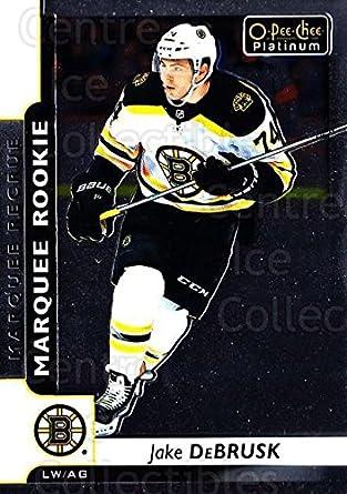 2017-18 O-Pee-Chee #616 Jake DeBrusk Bruins Rookie Card RC From Upper Deck Series Two Packs