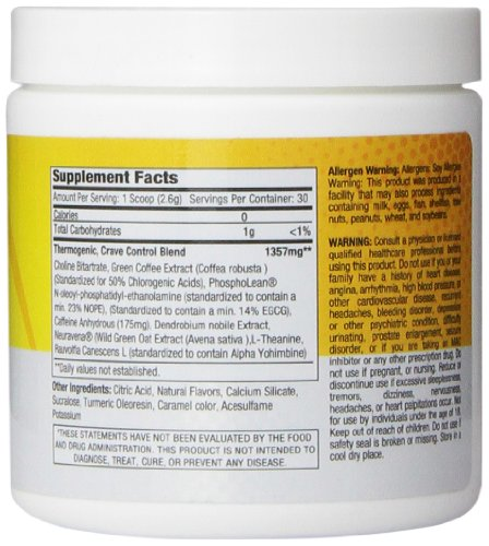 Athletic Edge Nutrition Liv Hybrid Weight-Loss Supplement, Pineapple, 78 Gram