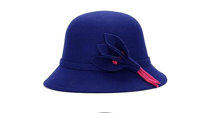 HX fashion Gorras Sombrero De Campana Señoras Otoño Invierno ...