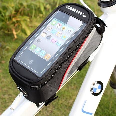 HooToo®ROSWHEEL Bolsa Frontal Bicicleta Con PVC Funda Protectora ...