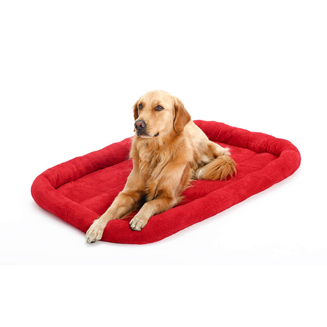 RED M RED M SENERY Warm Pet Dog Beds,Cozy Soft Dog Beds Mats Sleep Cushion House for Dog Cat Puppy,Pet Products