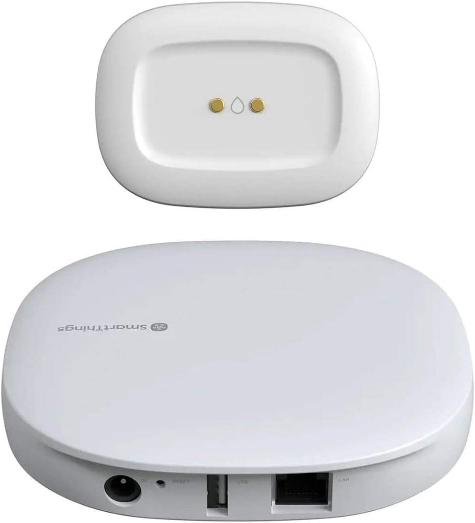 Samsung Smart Things Hub with Water Leak Sensor