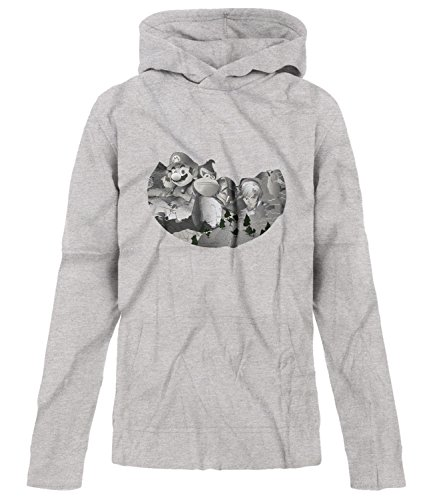 Price comparison product image BSW Youth Girls Mount Gamemore Gamer Theme Hoodie LRG Sport Grey