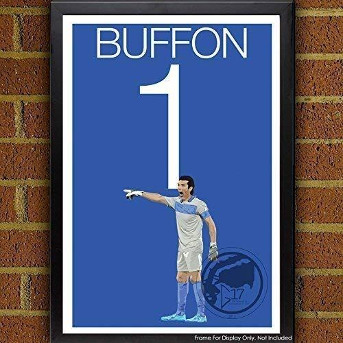 Gianluigi Buffon Poster   Italy Art