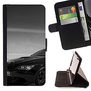 - Black Beemer - - Prima caja de la PU billetera de cuero con ranuras para tarjetas, efectivo desmontable correa para l Funny HouseFOR HTC DESIRE 816