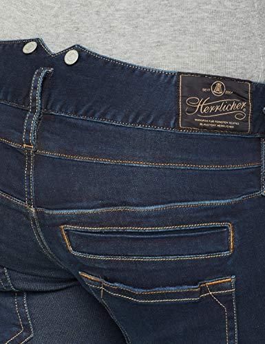 044 Slim Pitch Accessoire Powerstretch dull Herrlicher Denim Bleu Femme 8qxU5wS