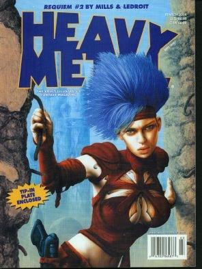 Heavy Metal Magazine (The Illustrated Fantasy Magazine, March 2004) pdf epub
