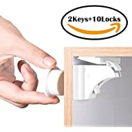 BETENSE Child Safety Magnetic Cabinet Lock No Tools...
