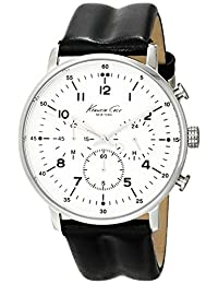 Kenneth Cole New York Men's KC1568 Iconic Chronograph Black Leather Watch