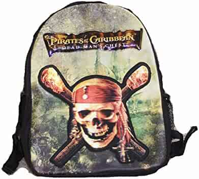 d77e814e44 Pirates of the Caribbean 3D Holographic Skull Backpack with BONUS Sword    Eyepatch