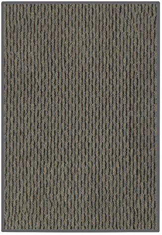 Koeckritz Rugs 12 x20 Wrought Iron Pattern Play Indoor Outdoor Area Rug Carpet, Runners with Many Sizes and Premium Nylon Fabric Finished Edges.