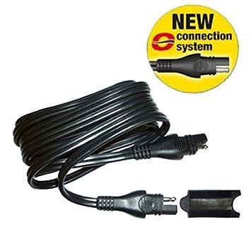 AccuMate - Cable alargador para cargador de batería de 4,6 ...