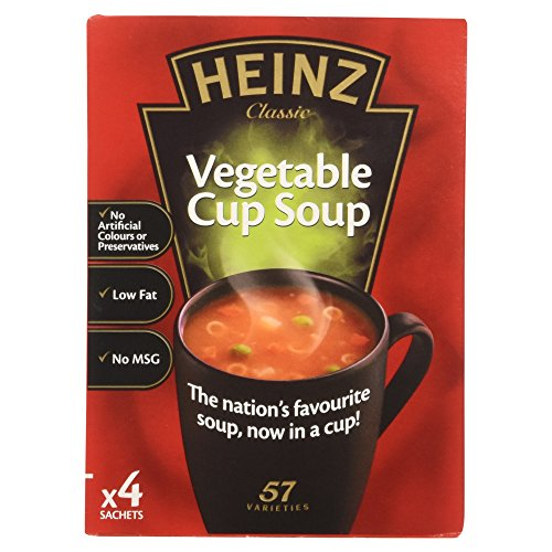 Original Heinz Vegetable Cup Soup Pack Imported From The UK England British Soup