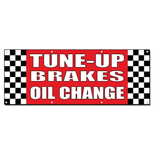 Tune-Up/Brakes/Oil Change Auto Body Shop Car Banner Sign 2' X (Auto Brake Tune)