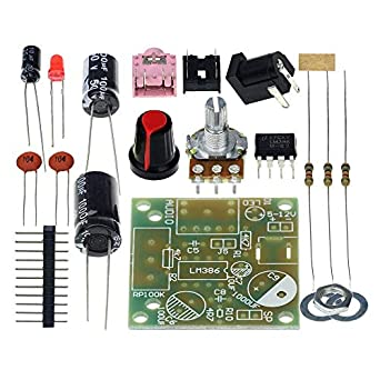 Smart Electronic DIY Kit LM386 Super Mini Audio Amplifier DIY Kit Suite Trousse LM386 Amplificador Module