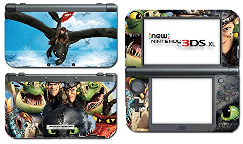 Amazon how to train your dragon 2 hiccup toothless astrid video amazon how to train your dragon 2 hiccup toothless astrid video game vinyl decal skin sticker cover for the new nintendo 3ds xl ll 2015 system console ccuart Choice Image