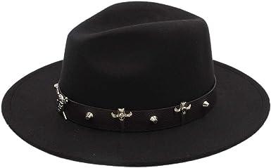 Fashion Wool Women Outback Fedora Hat for Winter Autumn Elegant Lady Floppy Cloche Wide Brim Jazz Caps 56-58CM