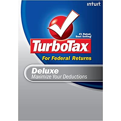 TurboTax Deluxe Federal + eFile 2008