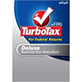 Software : TurboTax Deluxe + eFile 2008 (Old Version) [DOWNLOAD]