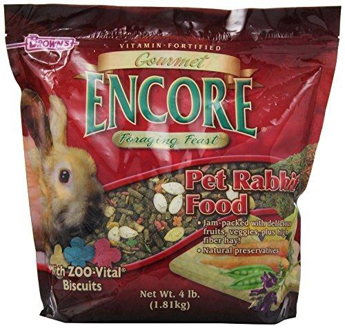 F.M.BROWN'S Encore Gourmet Rabbit Food - Net Wt. 4 (Gourmet Rabbit Food)