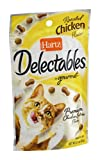 Hartz Delectables Gourmet Treats for Cats Roasted Chicken 2.1 OZ by HARTZ For Sale