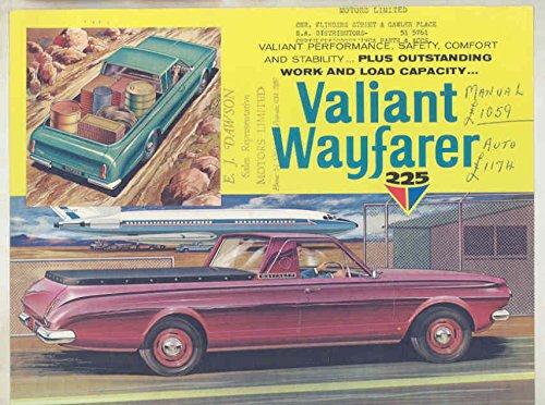 1965 Chrysler Valiant Wayfarer 225 AP6 UTE Brochure - Wayfarers Australia