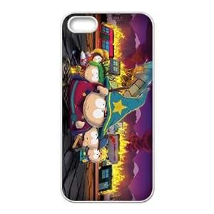 Y1N75 South Park el palo de funda iPhone verdad L5I7FX 4 4s funda caja del teléfono celular de cubierta AJ3PUQ6WS blancas