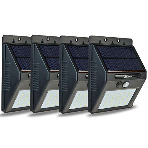 Wall Mounted Motion Detector Solar Led Lamp - 3