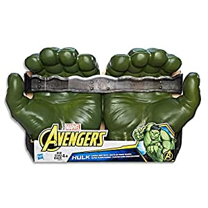 MARVEL AVENGERS -  Hulk Fists - Infinity War Movie Inspired - Kids Dress Up Toys - Ages 4+