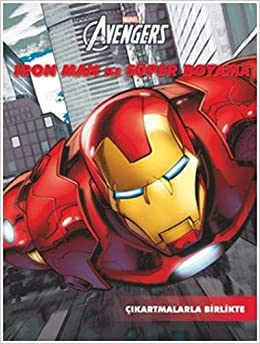 Marvel Iron Man Ile Super Boyama Collective 9786053337782