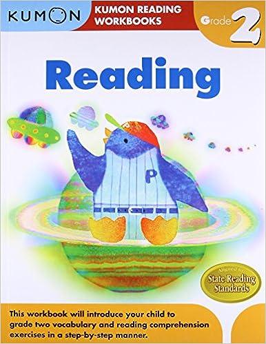 Amazon Grade 2 Reading Kumon Reading Workbooks 9781934968529