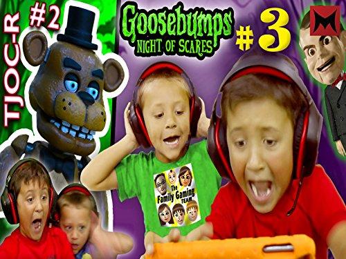 - Goosebumps Night of Jump Scares Part 3 with fnaf tjoc reborn part 2!