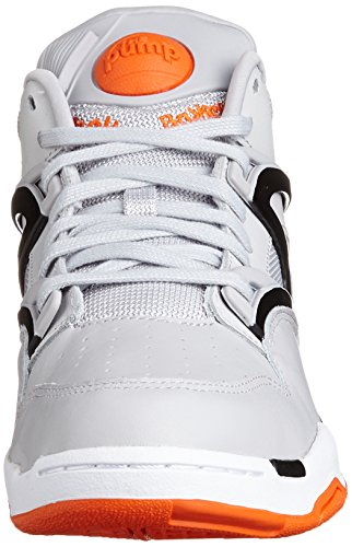 black swag Pump Mode Lite Homme Omni white Orange Reebok Gris Baskets steel HwFqq