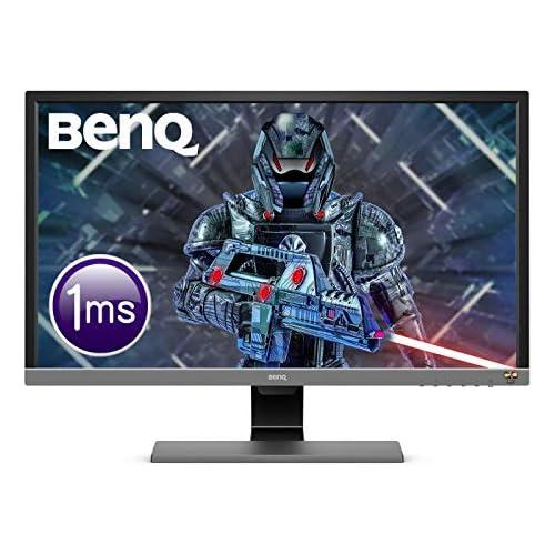 chollos oferta descuentos barato BenQ EL2870U Monitor Gaming de 28 4K UHD 3840x2160 1ms 60Hz 2x HDMI Modo HDR Fre Sync DisplayPort Altavoces Eye Care Sensor Brillo Inteligente Plus Flicker free Gris
