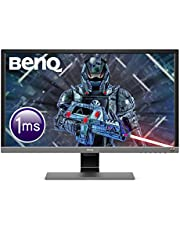 BenQ 28 inch 4K HDR Gaming Monitor, 1ms Response Time, UHD, Free-Sync, Brightness Intelligence Plus, HDMI, Speakers,28/inch,EL2870U