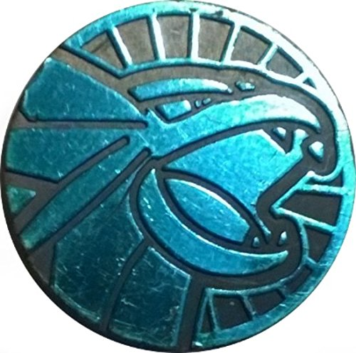 Salamence Coin from the Pokemon Trading Card Game - Blue