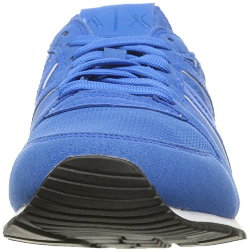 Sneaker Exchange Cobalt A Fashion Men Running Armani Retro Blue Lapis X Sneaker nUnqY164