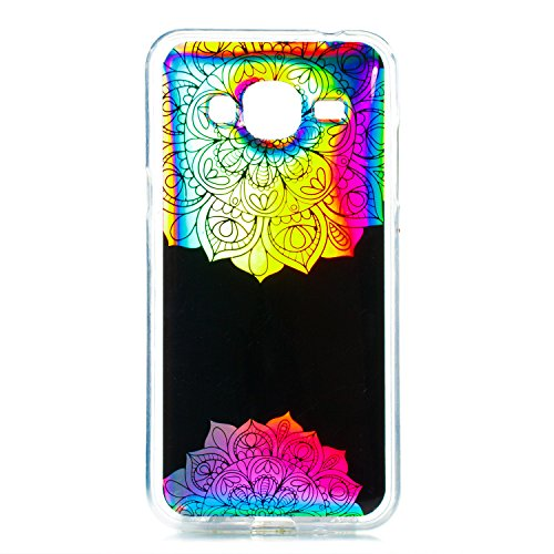Coque Silicone Ekakashop Silikon étoiles pour Soft avec Flexible TPU Paillettes Brillant Galaxy J3 Glitter Motif Deux Strass J3 en Bling Coque Samsung Case Anti 2016 Souple Bling Galaxy Datura Stretch Mandalas 2015 rKqH1wYOr