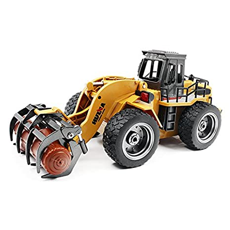Geminismart 1/50 Scale Metal Diecast Articulated Dump Truck Engineering Vehicle Construction Alloy Models Toys Kids Decoration House(Truck)