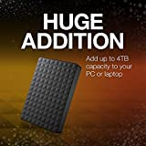 Seagate Expansion Portable 4TB External Hard Drive