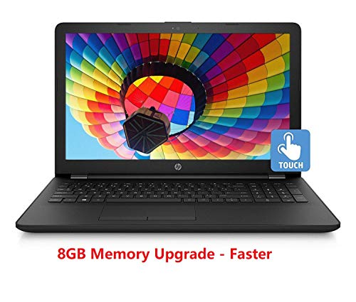 Packard Bell Laptop Memory - 2019 Newest HP 15.6-Inch HD Touchscreen Laptop, Intel Pentium Silver N5000 1.1GHz, 8GB DDR4-2400 Memory, 1TB HDD, HDMI, HD Webcam, Win 10