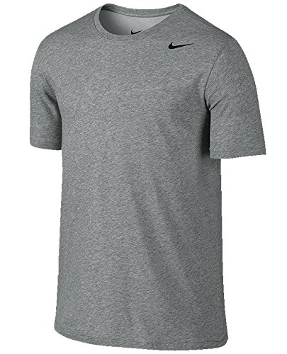 Nike Legend Grey Short Sleeve Performance Shirt, 2