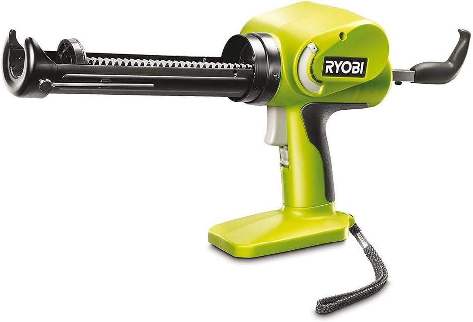 Ryobi RYBCCG1801MG Pistola de Silicona 18V, Fácil Uso, Sin Esfuerzo Sin Batería