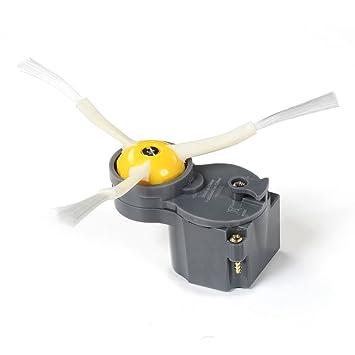 ASP ROBOT - MOTOR CEPILLO LATERAL - ciclomotor kit motorizado para Roomba 866 Serie 800. Recambio ORIGINAL repuesto compatible para aspirador irobot Rumba ...
