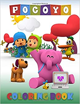 Amazon.com: Pocoyo Coloring Book: Great Coloring Pages For ...
