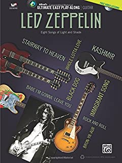 Ultimate Easy Guitar Play-Along -- Led Zeppelin: Easy Guitar TAB (Book